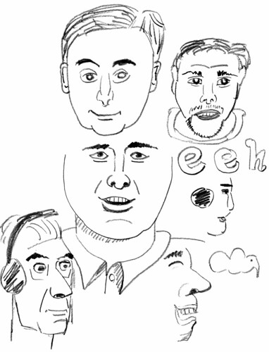 Learning how to draw a caricature, part 2