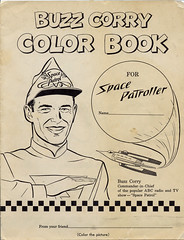 Buzz Corry coloring book