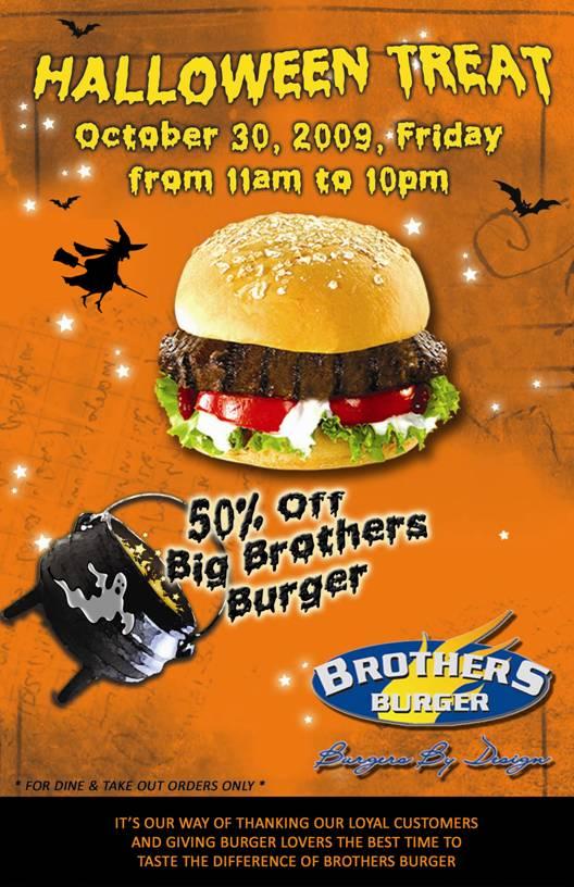 Brothers Burger Halloween Treat
