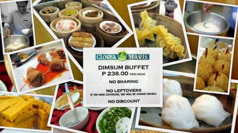 Gloria Maris Dim sum Buffet