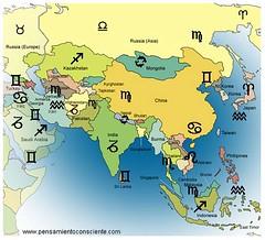 Identidades Nacionales - zodiaco asia