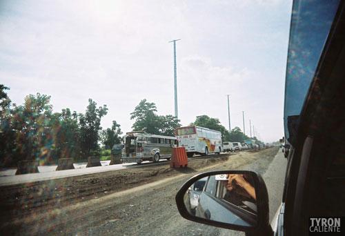 Ultrawide lens, bad traffic