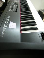 photo of my keyboard