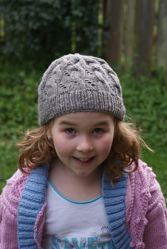 Hermione's Cable & Eyelet Hat