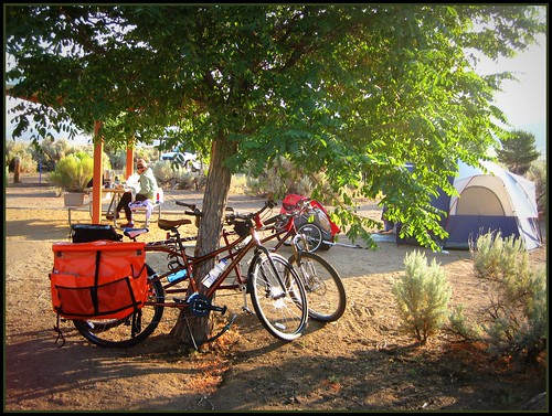 Bike Camping @ Washoe Lake