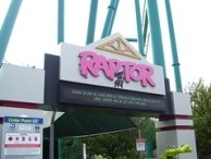 Cedar Point - Raptor Entrance Sign