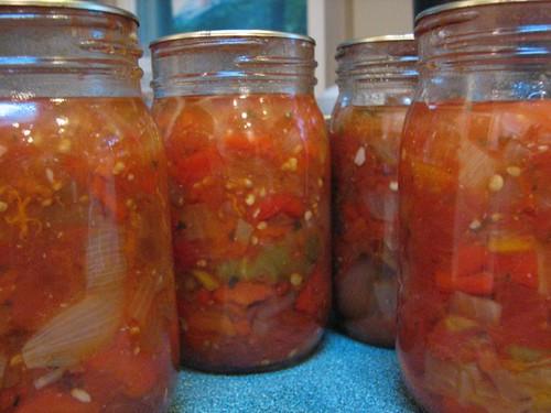 Finished salsa