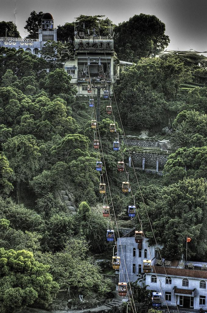 Xiamen's Gulangyu Cable Cars.