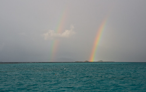 Tobago Cays Double Rainbow