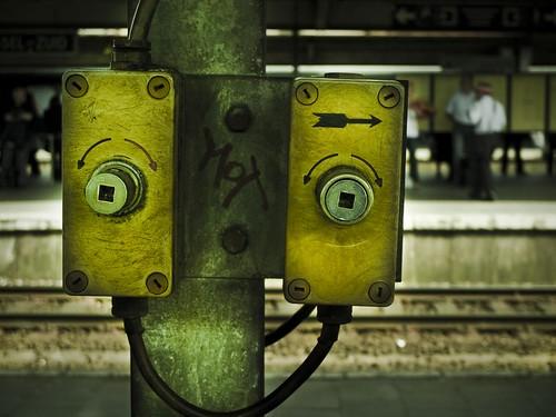 Robots Don't Take Trains...
