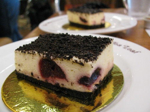 Camembert Oreo Cheese Tart