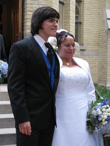 Newlyweds Nick and Desiree