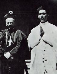 Bishop Olano and Fr. Calvo