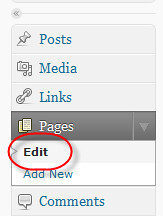 How to find the 'Page ID' of a WordPress.com page? - Page Edit Link