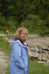 Laura at Orr Cove