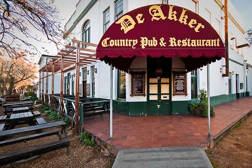 De Akker Country Pub & Restaurant, Dorp Street, Stellenbosch