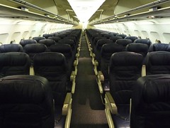 Coach Seats on New United A320