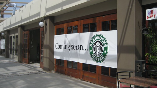 Starbucks coming soon
