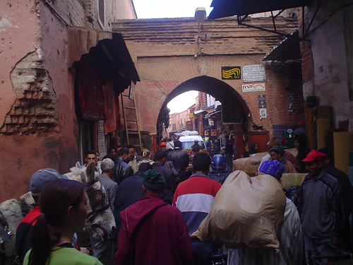 medina de marrakech em marrocos