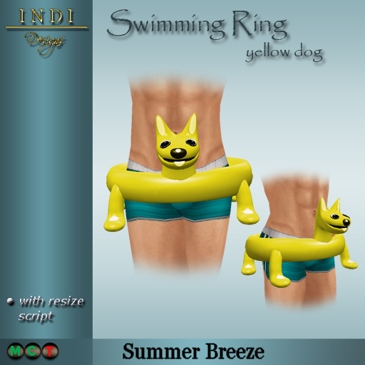 Swimming-Ring-yellow