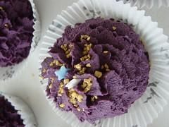 Bath-Cupcake Brombeere