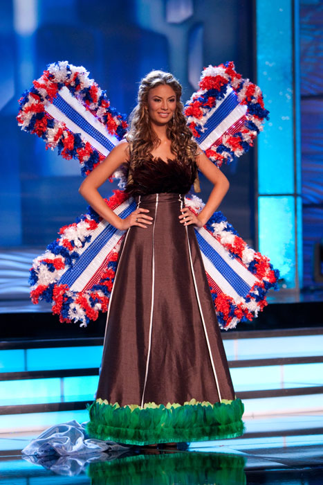 Traje Típico de Miss Holanda