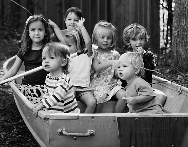 the estate of things chooses a boat load of kids