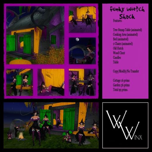 Winx-Funky Wiotch Shack _