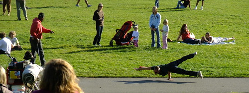 Hippy Hill on a sunny day. San Francisco's Indian Summer in Golden Gate Park 2009 2