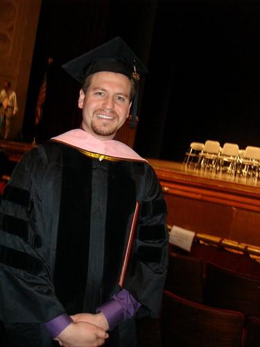 University of Minnesota graduate school graduation - May 9, 2009