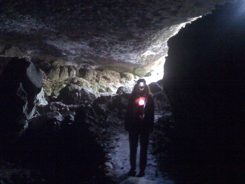 Me in cave by you.