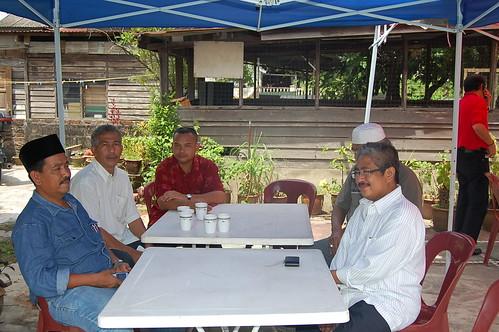 Raja Nong Chik menghadiri kenduri tahlil dan kesyukuran