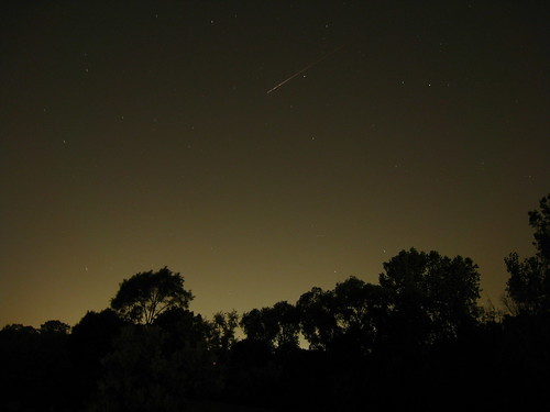 2009 Perseid meteor - Southeast Michigan