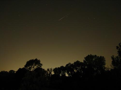 2009 Perseid meteor - Southeast Michigan