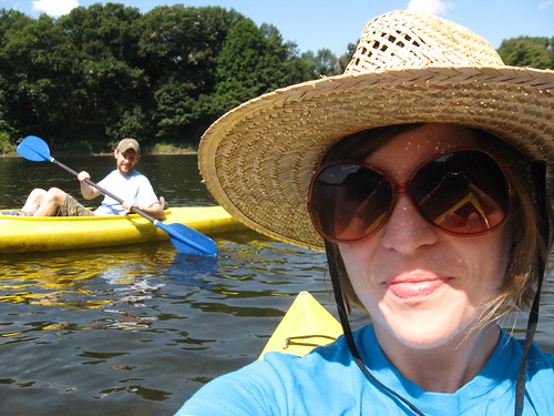 kayaking on the delaware