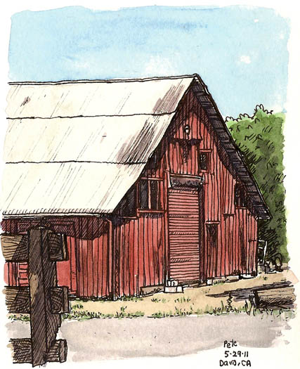 red barn, south davis