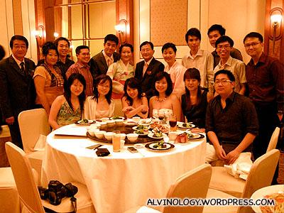 Group photo with my China travel buddies
