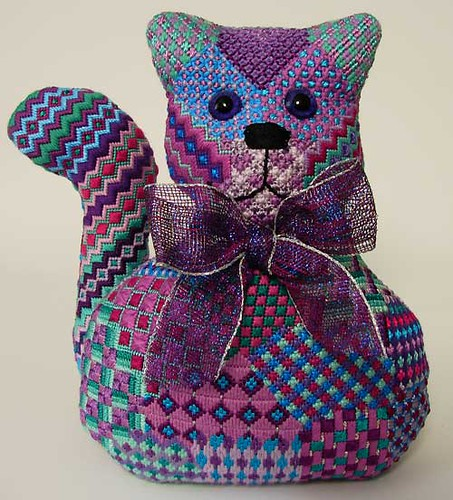 Needlepoint Cat