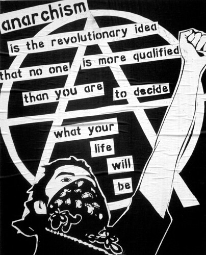 Anarchism is the revolutionary idea