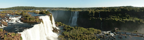 Brazillian walkway, Iguazu Falls
