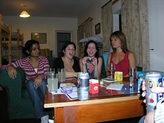 Kirti, Fran, Laura & Caroline