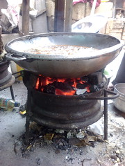 rim stove in action