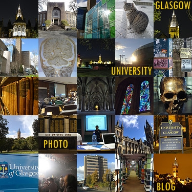 Glasgow Uni Photo Collage