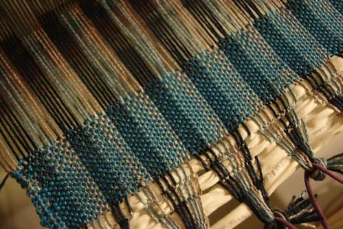 Weaving Progress Week Two
