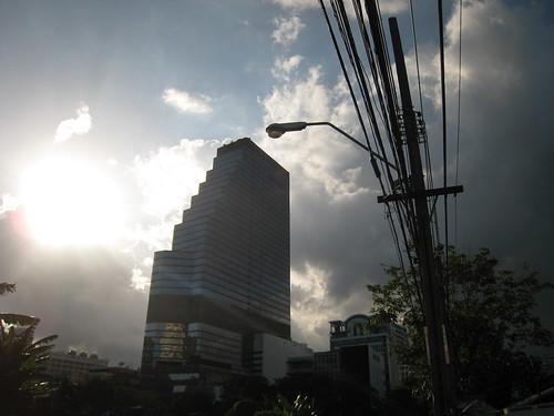 Crazy tropical weather (Bangkok, Thailand)