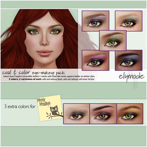 Coal & Color eye-shadows