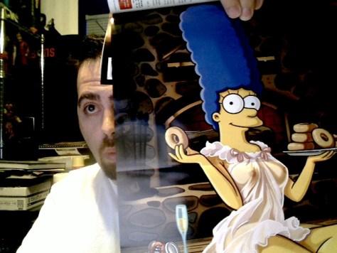Naked Marge Simpson