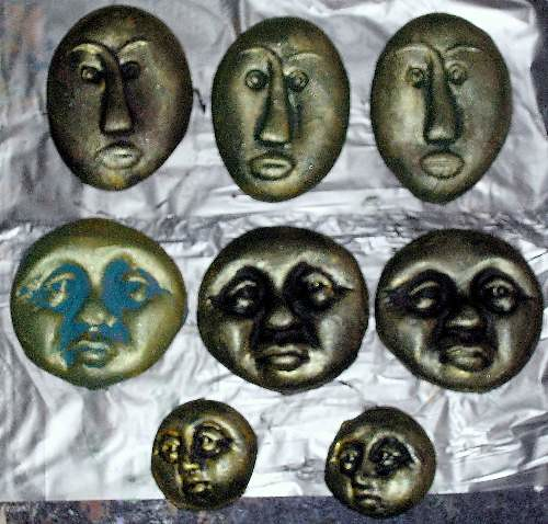Face Push Molds