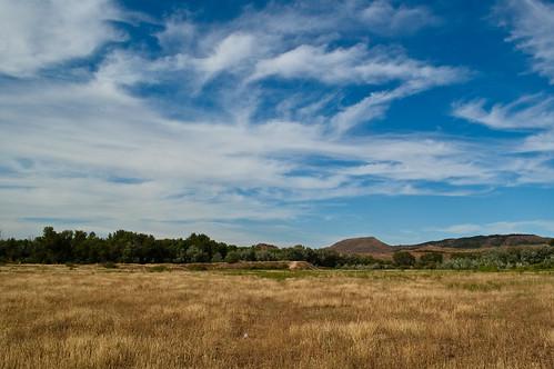 Campo, cielo y nubes (III)