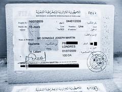 Joseph McGonagle, Passports and Visas, Saturda...